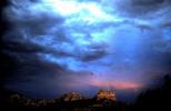 Stormy Sunset Sedona AZ
