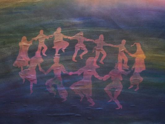 Product picture Folk Dance: Circle Dance sunprint