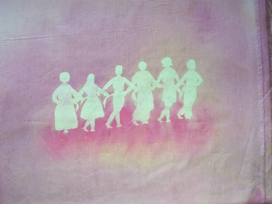 Product picture Folk Dance: Feet on Fire sunprint