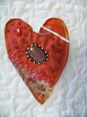 Product picture Detail Crazy Heart Quilt