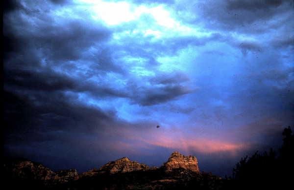 Product picture Stormy Sunset Sedona AZ
